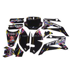 Fashion dirt bike/motorcycle tank pad/stickers