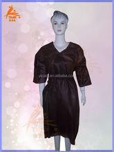high quality soft disposable kimono/bathrobe for massage ,spa, hotel