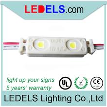 12v 0.24Watt SMD3528 2-led leds para letras mini 120 ángulo de luz de la certificación de UL de E468389