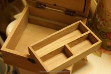 Popular handmade lovely wooden cheap sewing box