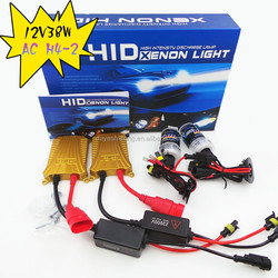 New Gold Design 12V38w AC H4 Hid xenon Kit h4-2 Hid Kit