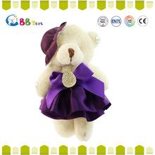 Vendas enxada qualidade excepcional engraçado urso de pelúcia barato