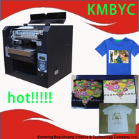 a3 size 6 colors t shirt direct to garment printer for sale
