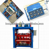 Good sale high quality and multifunctional soil brick making machine in india