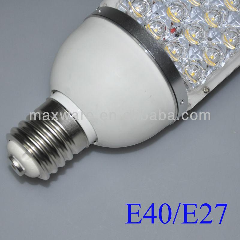28w e40 lampe ampoule ext rieur led route lampadaire candelabre. Black Bedroom Furniture Sets. Home Design Ideas