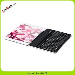 Best Selling New bluetooth Keyboard Cover for iPad 5, bluetooth Keyboard For iPad 5