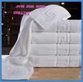 Baratos 100% jacquard de algodão toalha de banho