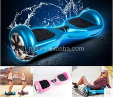 Best new style fashion 2 wheel electric scooter self balancing with LED light free shipping 2 wheel stand up electric scooter