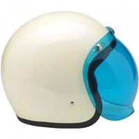 high quality white vintage mini motorcycle helmet