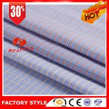 yarn dyed garment 100 cotton plain check