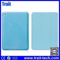 HOCO brand case, Cube Series Tri-foldable Flip Stand TPU case, PU Leather Case for iPad Mini 3/ iPad Mini/ iPad Mini 2 Retina