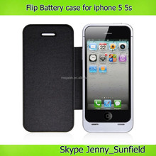 4200mah polymer power pack backup wallet battery case for iphone 5 5s 5c , for iphone 5 battery case power bank charger