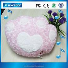 Customized bear claw round chair cushions