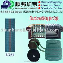 Móveis webbing elástico fornecedor ( B120 # )