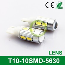 Good price t10 led light T10-10smd ebay led light 5630 chip light led for car
