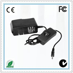 AC DC power adapter 12V 1A on/off Switching power adaptor with CE approval