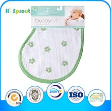 ONS5484 muslin burp cloths for baby with lovely printing