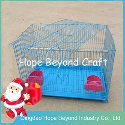 High quality portable metal wire pet cage dog crate