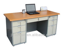 Metal executive table / MDF office desk