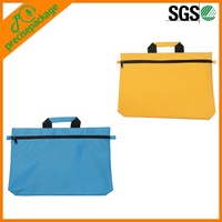 Non Woven travel bag for documents with handle