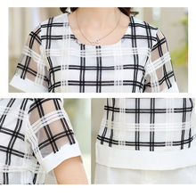 Apparel T-Shirts Summer female ladies small fragrant wind shorts suit leisure suit two-piece organza