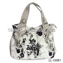 2012 newest flower printing handbag