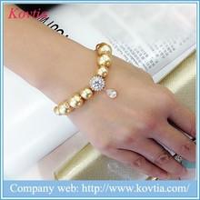 2015 New Design artificial jewellery beads pearl bracelet wholesale