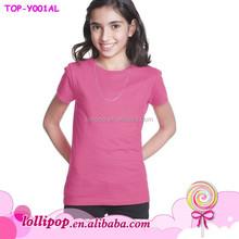 2015 Hot sale watermelon plain fashion wholesaler baby t shirt