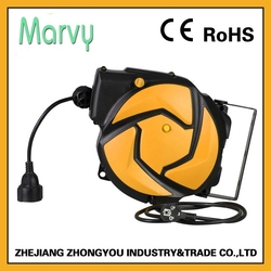 made in China high quality auto cable hose reel (E02) 14m 3G1.5mm2 (CE&RoSH approval)