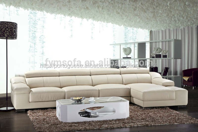 Sofá de couro em todo o mundo renome coreano FM073D