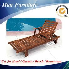 Venta caliente al aire libre sofá cama de madera antiguo sofá-cama de madera maciza 505027 diván