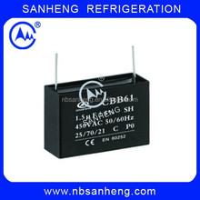 2MFD High Quality Capacitor Fan Capacitor CBB61 4uf 450V Capacitor