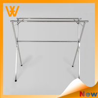 2015 Cheap Stainless steel retractable multi clothes hanger for drying clothes