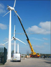 powerful low rpm 60kw wind turbine parmanent magnet generator