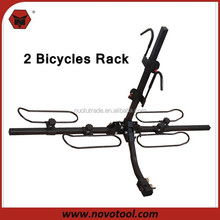 High Quality 2 Bikes Loading Capacity Hanging Bicycle Rack