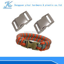 factory wholesale metal luggage bag buckle 25mm,silver plated buckle,locked buckle