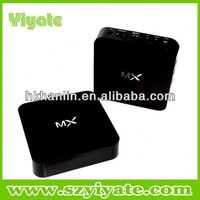 smart media player support skype with video chat AML8726-MX android 4.2 xbmc tv box