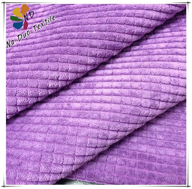 Velours velours meubles tissu textile velours tissu pour for Quel tissu pour recouvrir un canape