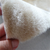 thick Imitated mink wool hand tufted bath rug