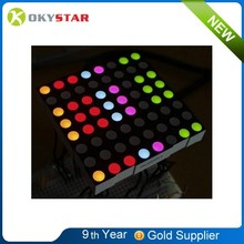 5mm 8x8 Matrix RGB LED 60*60mm Common Anode Full Color