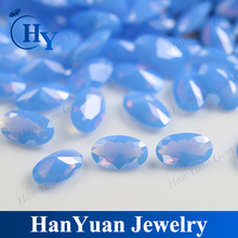 Oval Shape Synthetic Opal Loose Diamond Stones For Decoration