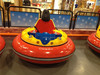 HOT spin zone inflatable Electric bumper car for Inflatable barrier or ICE rink