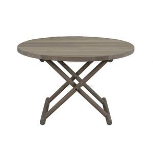 Único diseño de la venta caliente mesa de café de color nogal