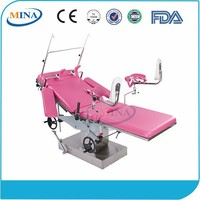 MINA-OBT001 Comfortable Medical delivery bed, labor and delivery beds