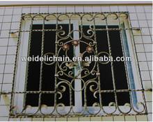 2013 fabricante de hierro forjado ventana de barra de guardias