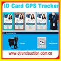 La tarjeta de identificación gpsracker para los niños de localización por gps chip/mini gps de seguimiento de chip/niños