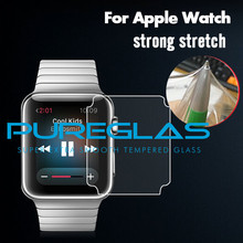 Pureglas best price new product tpu full cover screen protector for apple watch