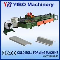 High class metal used c z m purlin roll forming line
