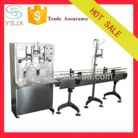 Pneumatic liner type big bottle salad oil filling machine