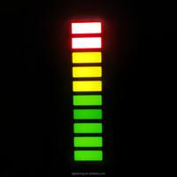 3 colors sign led bar 10 segments multi colour led bar graph array